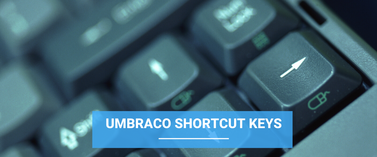 Umbraco Shortcut Keys