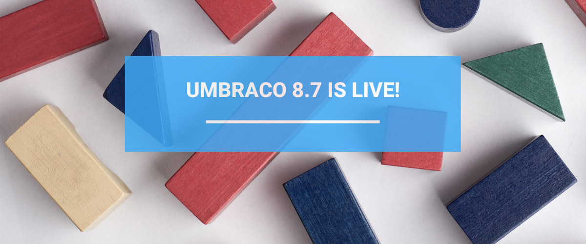 Umbraco 8.7 Is Live Illustration Of Block Editor