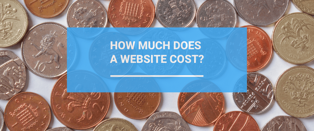 How much does a website cost image